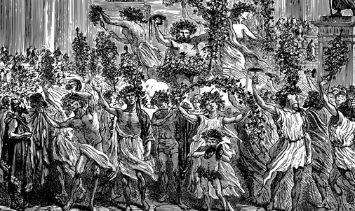 Post image Funky Festivals of the Past Festival of Saturnalia - Funky Festivals of the Past